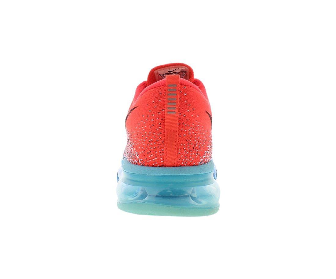 NIKE Flyknit Air Max Sneaker Laufschuhe Aktuelles Modell 2014! rotblauschwarz