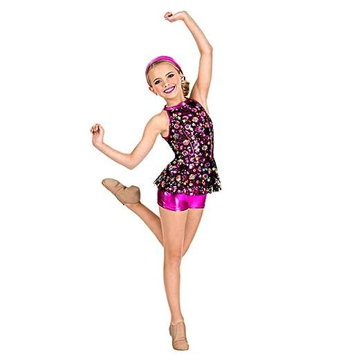 JIE. Tutu-niños Ballet Danza Trajes de Lentejuelas Bordados Trajes ...