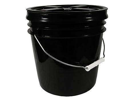 Amazoncom 2 Gallon Black Bucket With Black Gamma Seal Screw On