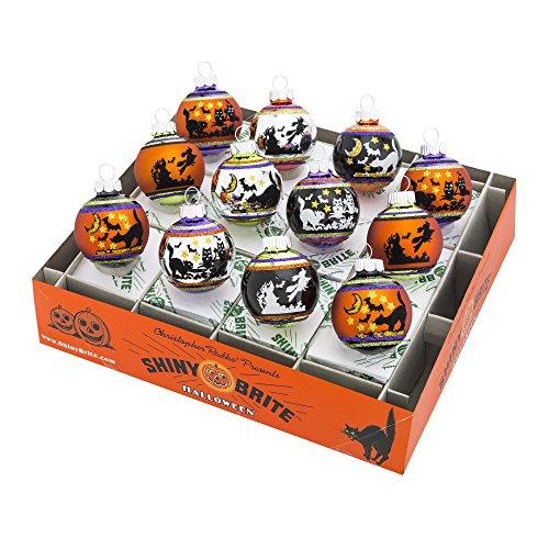 Christopher Radko Shiny Brite Halloween (Shiny Brite Halloween 1.75