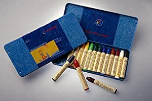 Stockmar Crayons 16 Pieces in a Tin Box by Stockmar