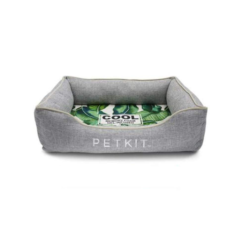 S FH Dog Kennel Cat Litter Pets Seasons Washable Summer Cooling Small and Medium Dog Supplies (Size   S)
