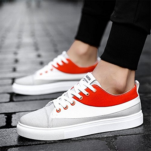 Mocasines Spring Sneakers Shoe Shoes para Deck Lovers Powder White Black Comfort Walking Un Canvas Planos Casual Summer Zapatos Zapatos White WwzEqq1Y