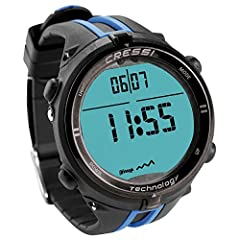 Ultra-compact and rich with features, the Cressi Newton Wrist Dive Computer provides dive functions in the size of a wrist watch. A mineral glass face and rugged reinforced case provide durable construction. When you're not scuba diving, deac...