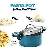 Gotham Steel Ocean Blue 5 Quart Multipurpose Pasta