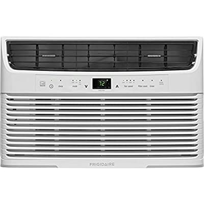 Frigidaire 6000 Btu 115V Window-Mounted Mini-Compact Air Conditioner with Full-Function Remote Control, White