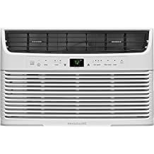 Frigidaire FFRE0633U1 6000 Btu 115V Window-Mounted Mini-Compact Air Conditioner with Full-Function Remote Control, White