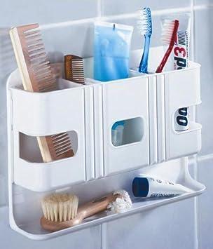 wenko bad-box - ohne bohren - badregal - badezimmer wandregal ... - Badezimmer Regal Ohne Bohren