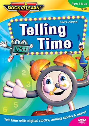 Rock 'N Learn:Telling Time (Halloween Learning Stations)