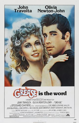 Grease  Movie Poster 24x36 inches John Travolta
