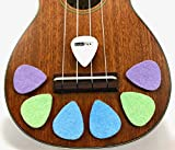 BoloPick Felt Pick for Ukulele 6 Pack with color options