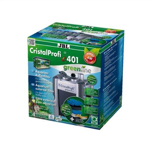 Außenfilter für Aquarien von 40 - 120 Litern, ChristalProfi e 401 greenline, 60200