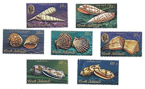 Cook Islands Stamp Set #1 Seven MNH 1974 Postage Stamps (Cook Islands Stamps)