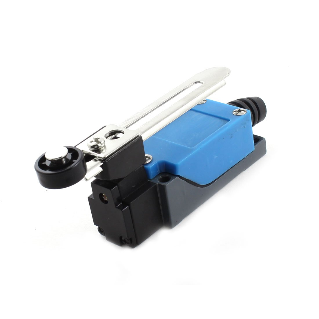 Sourcingmap ME-8108 DPST Momentary Adjustable Rotary Roller Arm Lever Limit Switch