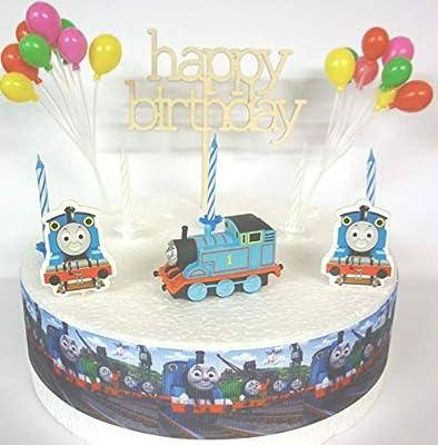 OSK THOMAS the Tank Engine Birthday Cake Decoration Set