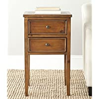Safavieh American Home Collection Toby Filbert Brown End Table