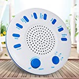 White Noise Machine, Portable Sound Machine with Timer, 9 Natural Soothing Relaxation Sleep Therapy System for Baby, Kids, The Elderly and Insomnia