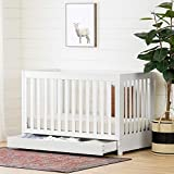 White Baby Cribs with Drawers South Shore 12309 Yodi Crib with Drawer-White