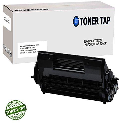 Toner Tap Compatible Toner Cartridge for Okidata B700 Series B710, B720, B730 (15,000 pgs) Black