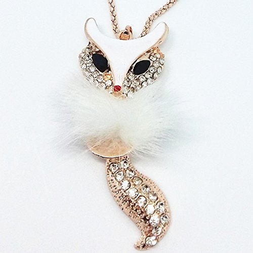 qtmy-fur-fox-statement-choker-long-gold-necklace-chain-jewelry-with-pendant-for-women-teen-girls