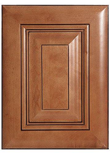 Amazon.com: Walnut Raised Panel Kitchen Cabinet Sample Door ...