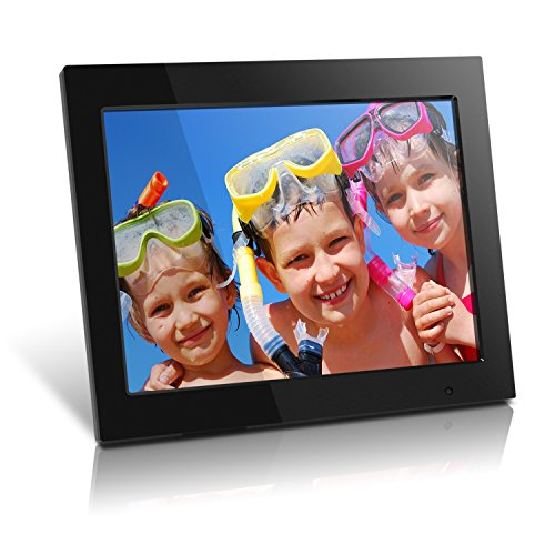 Aluratek (ADMPF315F) 15 Inch Digital Photo Frame – Black