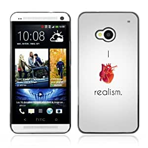 Designer Depo Hard Protection Case for HTC One M7 / Realism