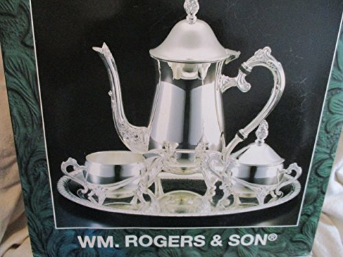 (Silverplated 4 Piece Coffee or Tea)