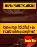 Business Marketing Articles