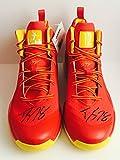 DWIGHT HOWARD Signed Autograph Basketball Shoe Pair NBA JSA Orlando Magic Charlotte Hornets