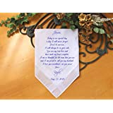 Groom wedding handkerchief from the Bride-Wedding Hankerchief-PRINTED-CUSTOMIZE-Wedding Hankies-Wedding Gift for groom-Bride Gift to-MS1FCAC by Snugahug[127]