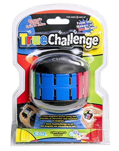 TRUEChallenge by TRUEBalance Is The Ultimate Magnetic Puzzle Game- Spin to Solve. Nothing beats the Challenge and exhilaration of solving puzzles. Best coordination and STEM learning toy on the market