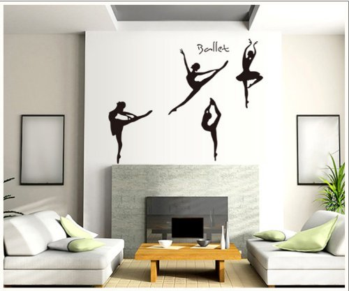 Luxbon-Ballet dream four girls dancing on the picture for