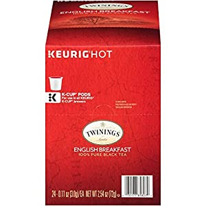Twinings of London English Breakfast Tea K-Cups for Keurig from Twinings