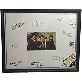 class of 2016 photo frame with signature mat and pen 11x14 inch