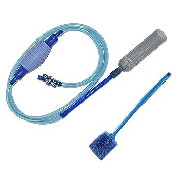 MisteSun - Limpiador de Grava para Acuario, Bomba de vacío de sifón, Limpiador de