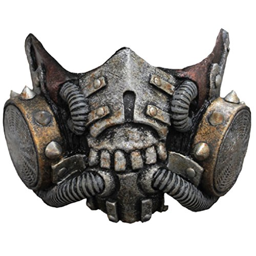 Faerynicethings Adult Size Steampunk Doomsday Muzzle - Latex Mask -