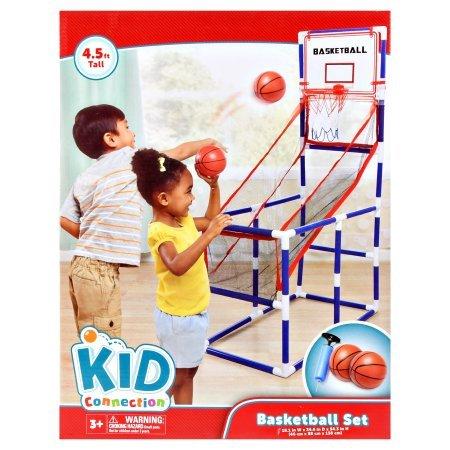 Kid Connection Basketball Set, 4.5 feet, 3+ Years
