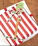 """Set of 3 Christmas Holiday Silicone Spatulas 12-1/4"""", Each"""