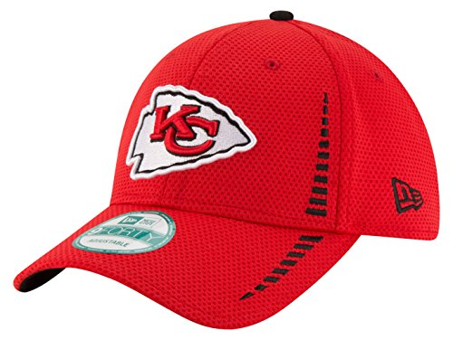 NFL Kansas City Chiefs NE Speed 9FORTY Adjustable Cap, One Size, Red (Nfl Caps compare prices)