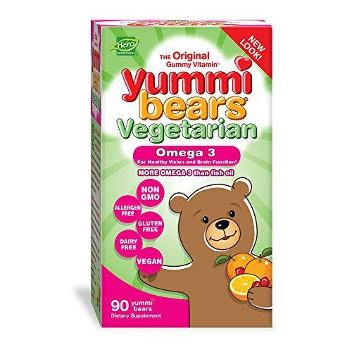 Yummi Bears Omega Supplement Gummy product image