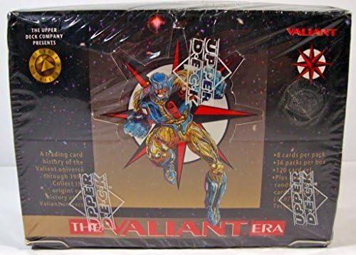 The Valiant Era Trading Cards Box -36 Count by Valiant Comics: Amazon.es: Juguetes y juegos