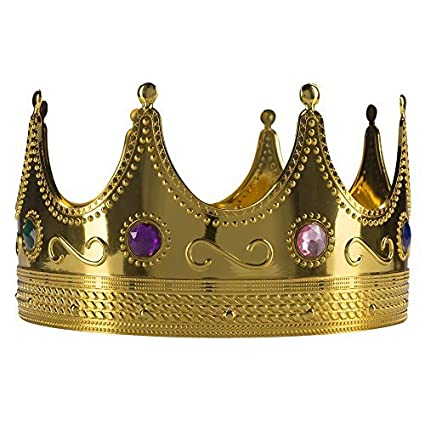 amazon com fun central ay970 regal gold king crown king crown toy