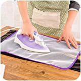 Longay 1PC High Temperature Ironing Cloth Ironing Pad Protective Insulation Against Hot Household Ironing Mattress Random Color