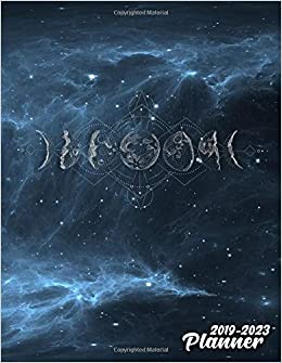 Amazon.com: 2019-2023 Planner: Galaxy Phases of The Moon 5 ...