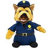 Animated Singing And Dancing Bad Boys K-9 Cop Police Dep. Trooper Dog Plush