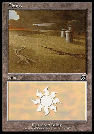 - Magic: the Gathering - Plains - Mercadian Masques - Foil