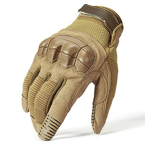 Full Finger Men Knuckles Shell Protect Paintball Mitten Special Forces Gloves