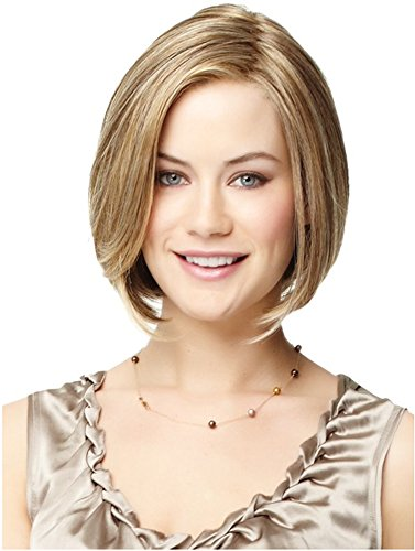 Wig Child Sized Hair - HI GIRL Charming Long Light Blonde Straight Layered Middle Part Hair Wig
