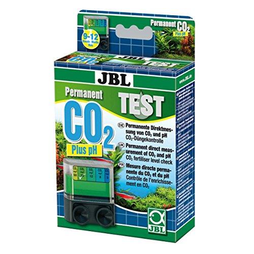 JBL 2539200 Dauertest zur Bestimmung des Säure-/Kohlendioxidgehalts in Süßwasser Aquarien, Test-Set CO2 Permanent, 25392